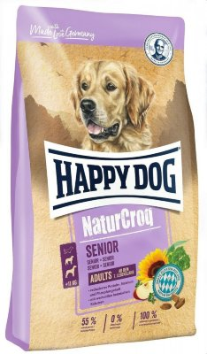 "Happy dog ""NaturCroq Senior"" сухой корм для пожилых собак всех пород"