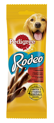 "Pedigree ""Rodeo"" Лакомство д/собак 70г"